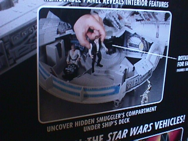 Star Wars The Power of The Force Electronic Millennium Falcon